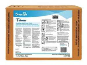 Floor Finish 5 Gal less Frequent Diversey 5039422
