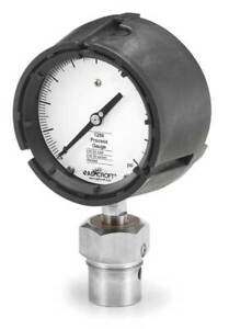 Pressure Gauge 0 To 60 Psi 4 1 2in 1 2in