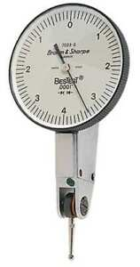 Dial Test Indicator hori 0 To 0 008 In Tesa Brown Sharpe 599 7023 3