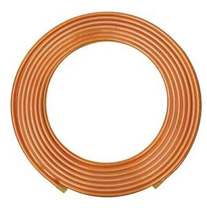 7 8 Od X 100 Ft Coil Copper Tubing Type L Mueller Industries Ls06100