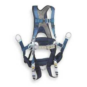 Full Body Harness L 420 Lb Blue gray 3m Dbi sala 1108652