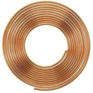 3 8 Od X 100 Ft Coil Copper Tubing Type K
