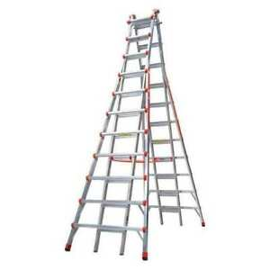 Little Giant 10121 Telescoping Step Ladder 20 1 2ft ia alm