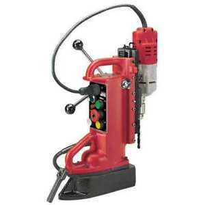 Magnetic Drill Press 600rpm 1 2 In Steel Milwaukee 4204 1