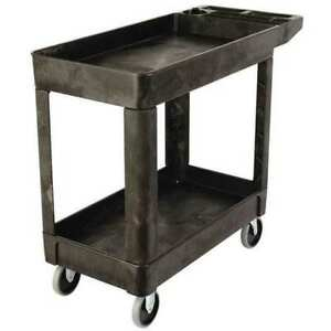 Utility Cart 500 Lb Load Cap Rubbermaid Fg450089bla