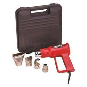 Master Appliance Ec 100k 10 0 amp Corded Heat Gun Kit 120vac 1200w
