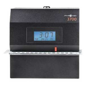 Time Clock And Document Stamp digital Pyramid 3700