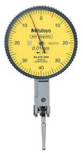 Dial Test Indicator hori 0 To 0 8mm Mitutoyo 513 404 10e
