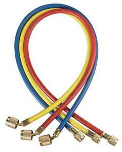 Manifold Hose Set 72 In red yellow blue Yellow Jacket 22986