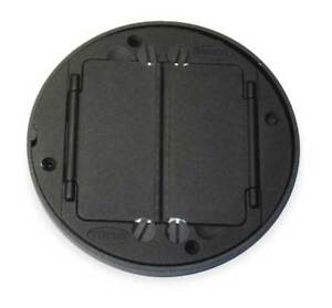 Floor Box Cover Tile Flange black Hubbell Wiring Device kellems S1tfcbl