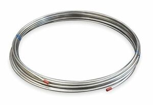 1 2 Od X 50 Ft Welded 316 Stainless Steel Coil Tubing Zoro Select 3adk3