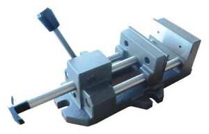 6 Quick release Vise With Fixed Base Dayton 6z845