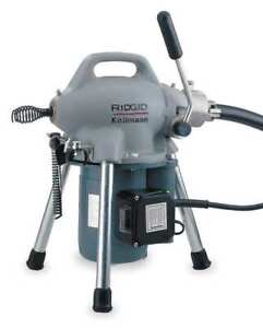 Ridgid 58920 Sectional Drain Cleaning Machine 1 6 Hp