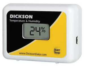 Temperature And Humidity Data Logger Dickson Tp425