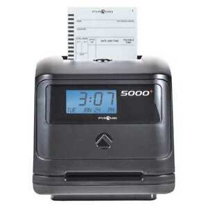 Mechanical Auto Totaling Time Clock Pyramid 5000