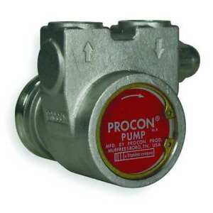 Procon 103a140f31ra 250 Rotary Vane Pump 3 8 In 154 Gph