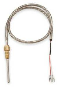 Tempco Tcp60090 Thermocouple Probe type J length 4 In