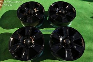 20 Ford F150 Oem Factory Wheels Expedition 2009 2010 2011 2012 2013 Gloss Black
