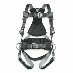 Black gray Full Body Harness Rdt qc bdp ubk Miller By Honeywell