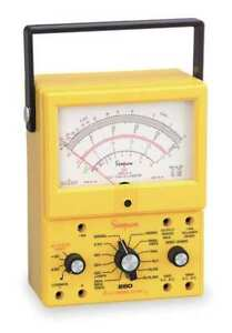 Simpson Electric 260 8xpi Analog Multimeter