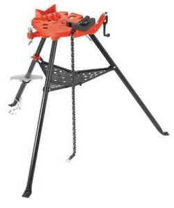 Ridgid 36278 Portable Chain Vise 1 8 To 12 In