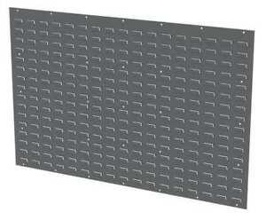 Akro mils 30655gy Louvered Panel 52 X 5 16 X 34 1 8 In