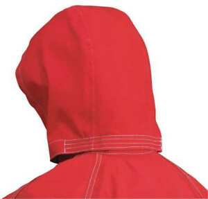 Ansell 66 664 Three Piece Chemical Resistant Hood red