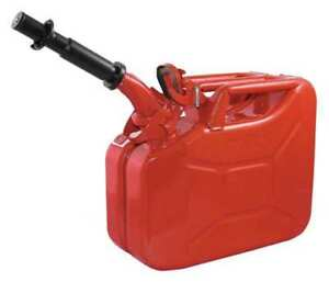 Wavian 2238 10 Gas Can 2 5 Gal red include Spout