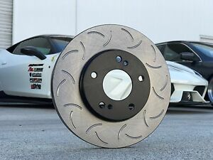 88rotors Front Pair Premium Slotted Only Csr Brake Rotors New Style Is350