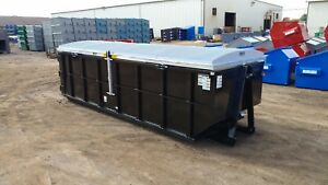 Storm top Roll Off Container Cover Standard Version model St 8000 s