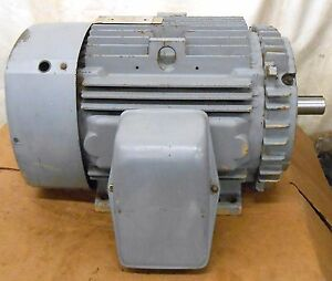 Ge 40 Hp Motor 5k324bs115a 3 Phase 3555 Rpm 230 460 Volts 324ts Frame