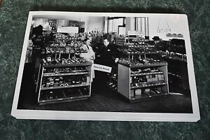 1940 S Chevrolet Parts Room Display 12 By 18 Black White Picture