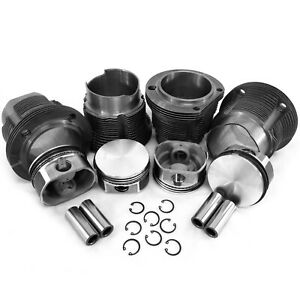 94mm Porsche 914 Vw Type 4 Flat Top European Style Piston Cylinder Kit