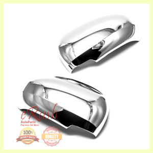 For 2010 2015 Toyota Prius Prius V Chrome Side Mirror Covers Cover W O Signal Us