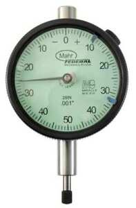 Dial Indicator 0 To 0 250 In 0 50 0 Mahr federal Inc 2015792