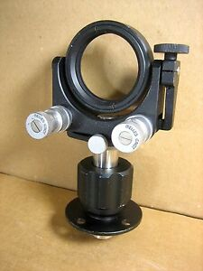 Melles Griot Gimble Lens Mount Mirror Holder 2 Mount 20mm Rod