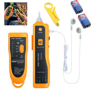 Rj45 11 Telephone Phone Wire Line Tracker Toner Tracer Tester Lan Network Cable