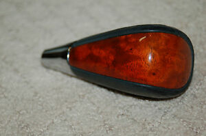 Wooden Leather Shift Knob For Late Model Lexus Oem