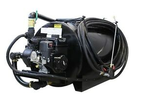 Asphalt Sealcoating Sprayer 130 Gallons 6 5 Hp Cast Iron Pump 75 Ft Hose