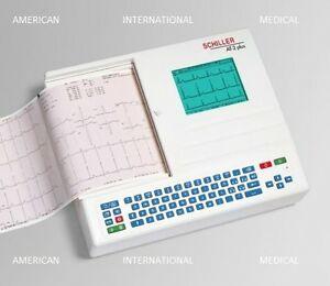 Welch Allynschiller At 2 Plus Ekg Machine patient Ready 2 Yrs Warranty