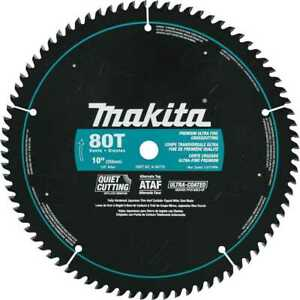 10 X 5 8 80t Ultra coated Miter Saw Blade Makita A 94770 New