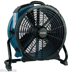 Xpower X 47atr Professional Axial Fan 3hp Sealed Motor Variable Speed control