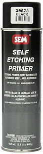 Sem 39673 Black Self Etching Primer 15 5 Oz