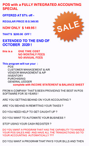 Point Of Sale With Integrated Accounting Management System Software 50 Off