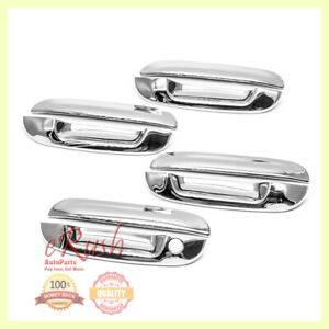 For 2006 2010 Cadillac Dts 04 07 Buick Rainier Chrome Door Handle Cover Covers