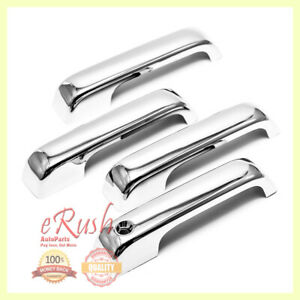 For 2015 2019 2020 Ford F150 F 150 Chrome Door Handle Cover Covers Special Fast