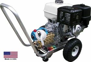 Pressure Washer Portable Cold Water 2 5 Gpm 3300 Psi 5 5 Hp Honda Eng Ari