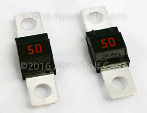 Ezgo 50 Amp Fuse Powerwise Charger Fuse 28106g01 Golf Cart Charger Fuse Midi 50a