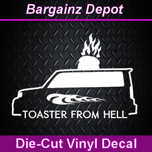 Toyota Scion Xb Toaster From Hell Funny Vinyl Decal Car Auto Laptop Sticker