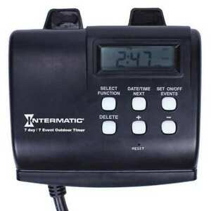 Timer digital 120v 15a plug In Intermatic Hb880r
